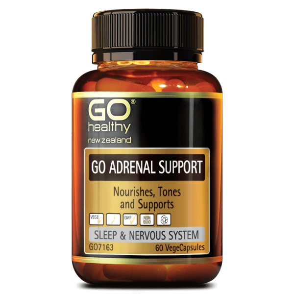GO Healthy GO Adrenal Support 60 Capsules