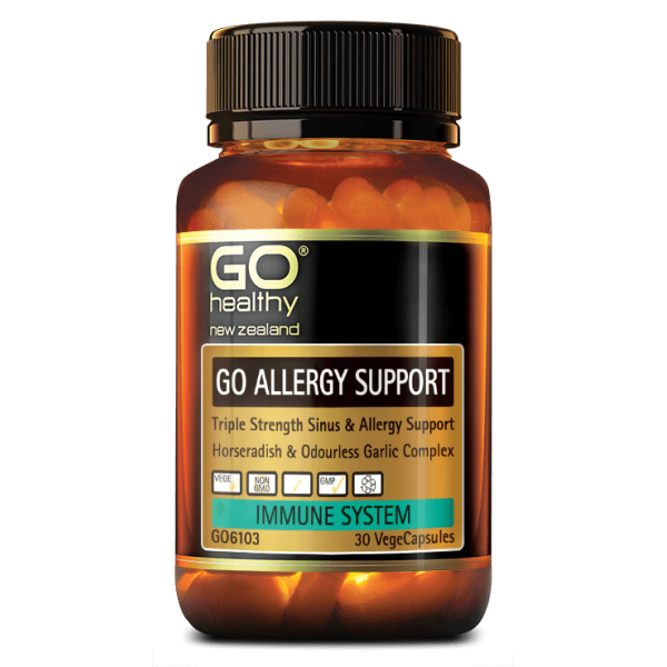 GO Healthy GO Allergy Support 30 Capsules