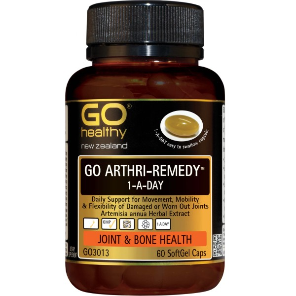 GO Healthy GO Arthri Remedy 1-A-Day 60 Capsules