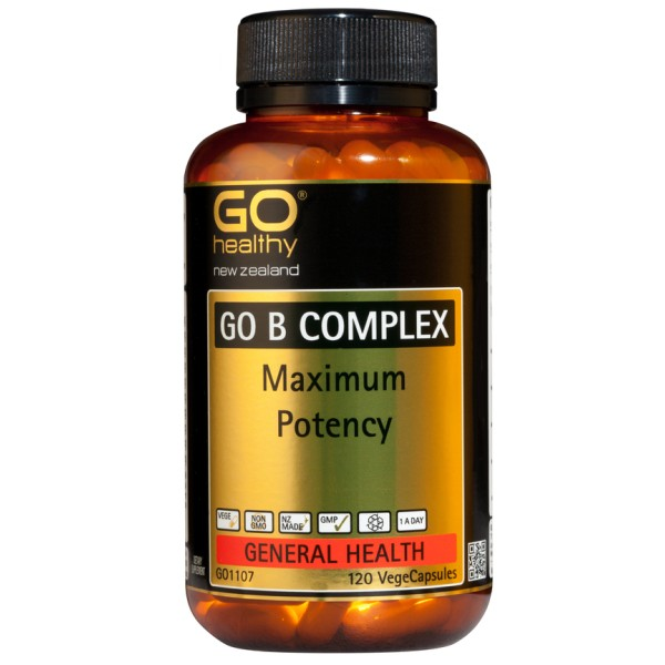 GO Healthy GO B Complex 120 Capsules