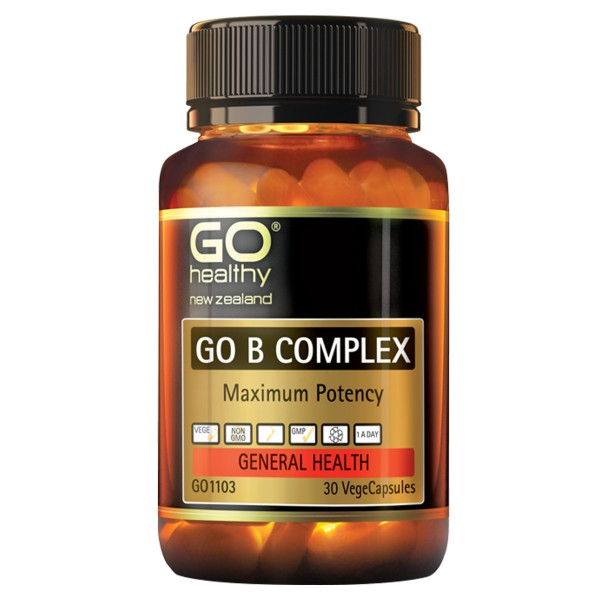 GO Healthy GO B Complex 30 Capsules