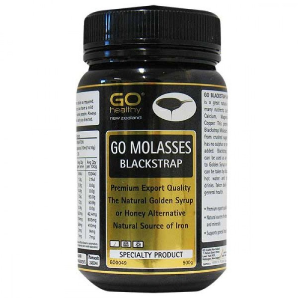GO Healthy GO Blackstrap Molasses 500g