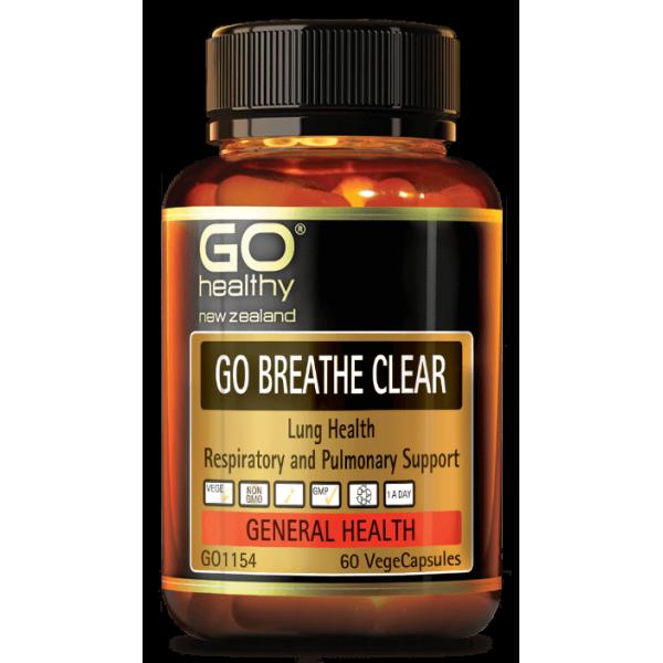 GO Healthy GO Breathe Clear Capsules