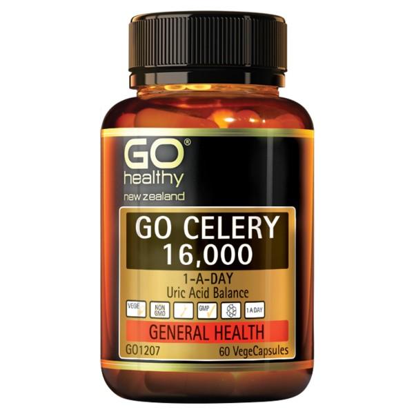 GO Healthy GO Celery 16000mg 60 Capsules
