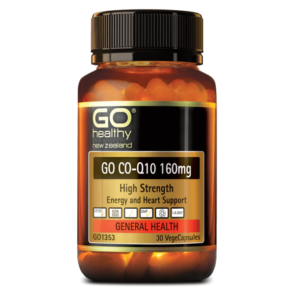 GO Healthy GO CoQ10 160mg 30 Capsules
