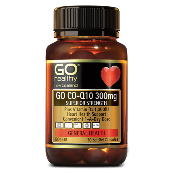 GO Healthy GO CoQ10 300mg 30 Capsules