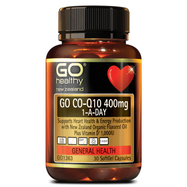 GO Healthy GO CoQ10 400mg 30 Capsules
