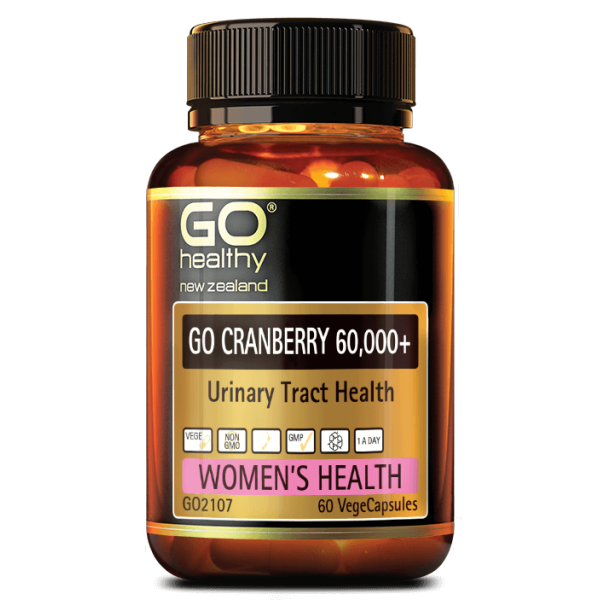 GO Healthy GO Cranberry 60,000+ 60 Capsules