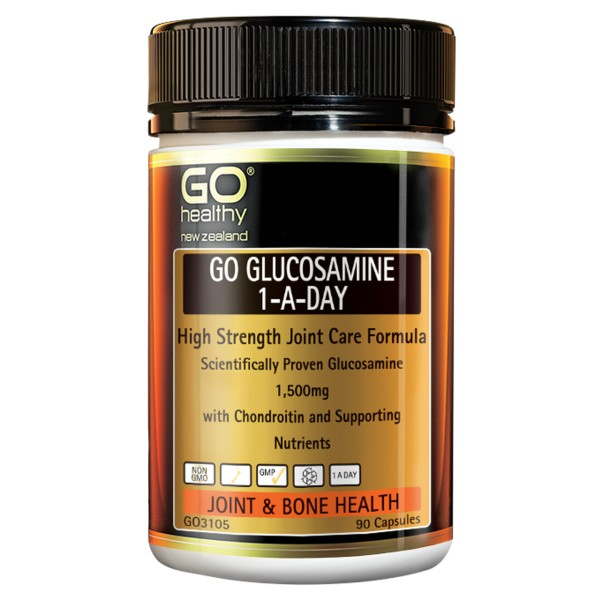 GO Healthy GO Glucosamine 1-A-Day 90 Capsules