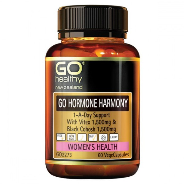 GO Healthy GO Hormone Harmony 1-A-Day 60 Capsules
