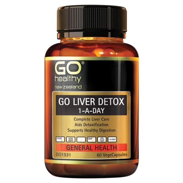 GO Healthy GO Liver Detox 60 Capsules