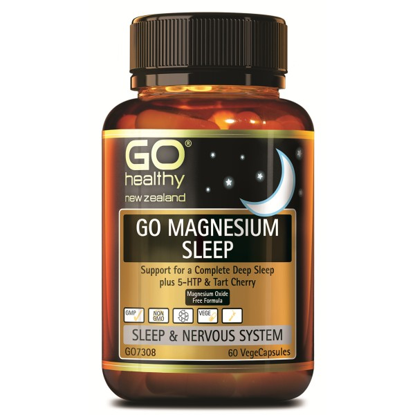 GO Healthy GO Magnesium Sleep 60 Capsules