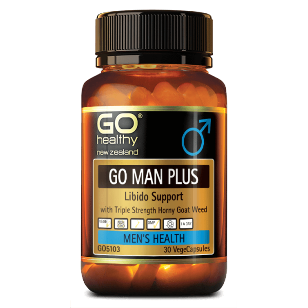 GO Healthy GO Man Plus 30 Capsules
