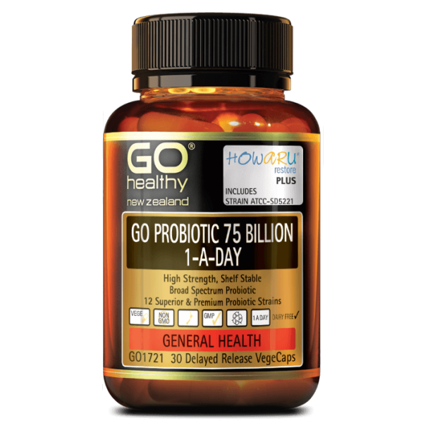GO Healthy GO Probiotic 75 Billion 30 Capsules