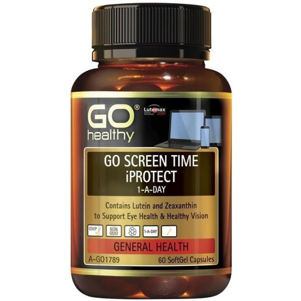 GO Healthy GO Screen Time iProtect 1-A-Day 60 Capsules