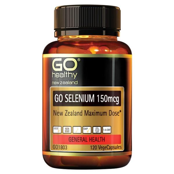 GO Healthy GO Selenium 150mcg 120 Capsules