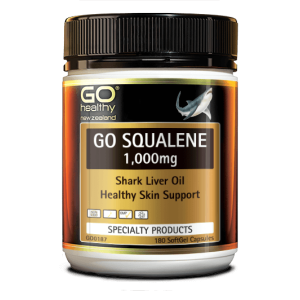 GO Healthy GO Squalene 1000mg Softgels