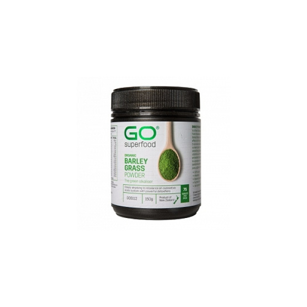 GO Healthy GO Superfood Organic Barley Grass Powder 150g