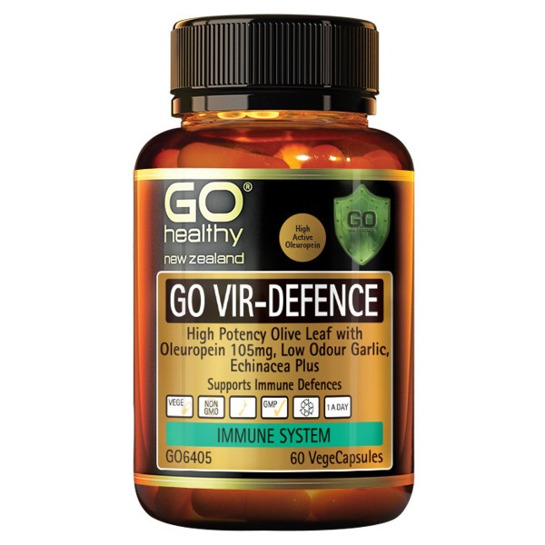 GO Healthy GO Vir Defence 60 Capsules