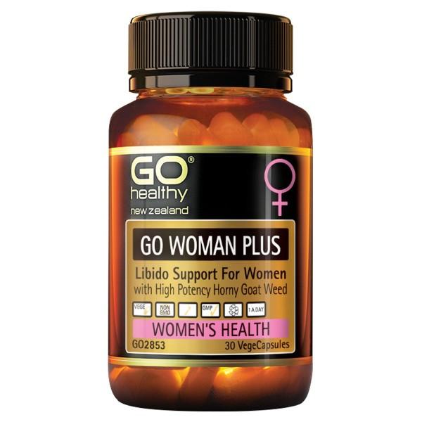 GO Healthy GO Woman Plus 30 Capsules