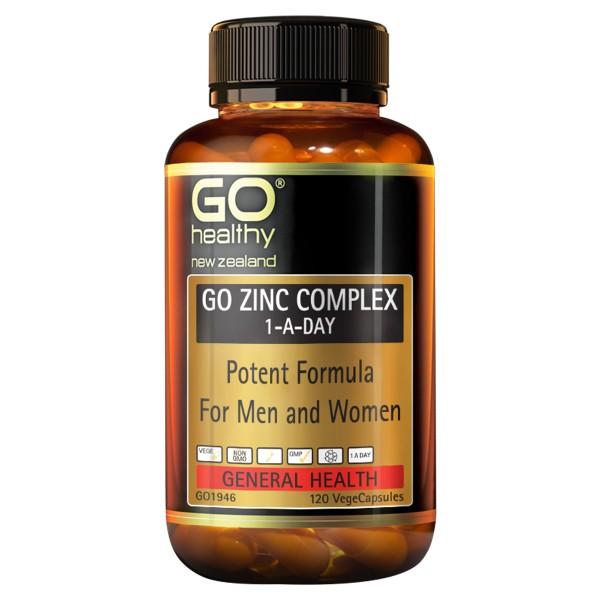 GO Healthy GO Zinc Complex 120 Capsules