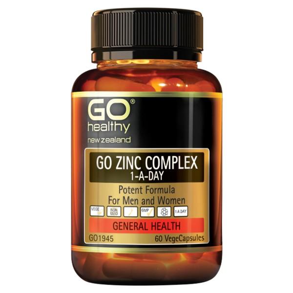 GO Healthy GO Zinc Complex 60 Capsules