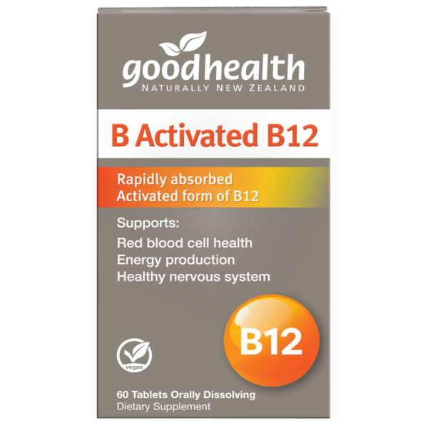 Good Health B Activated Vitamin B12 60 Tablets