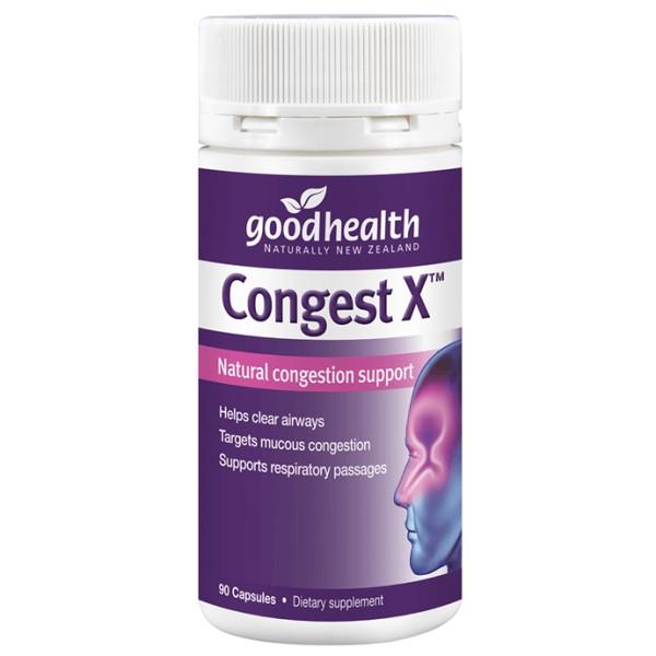 Good Health Congest X 90 Capsules