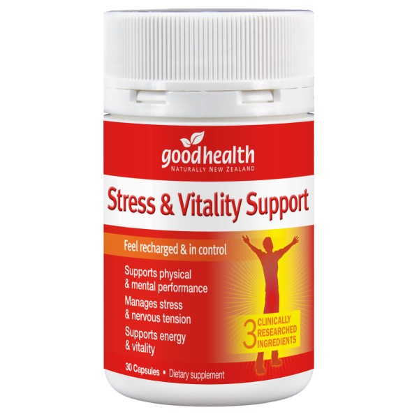 Good Health Energy & Vitality Support 30 Capsules