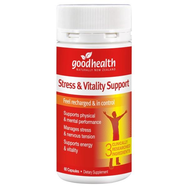 Good Health Energy & Vitality Support 60 Capsules