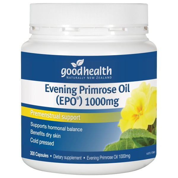 Good Health Evening Primrose Oil 1000mg EPO 300 Capsules