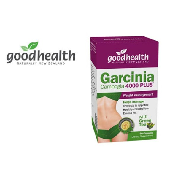 Good Health Garcinia Cambogia 4000 Plus 60 Capsules