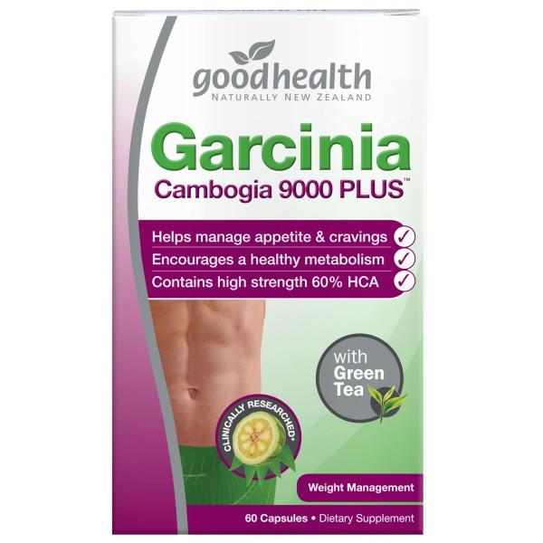 Good Health Garcinia Cambogia 9000 Plus 60 Capsules