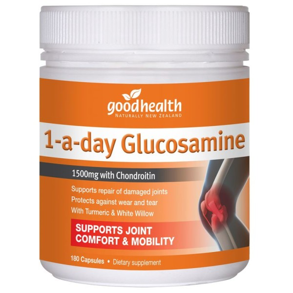 Good Health Glucosamine 1 A day 180 Capsules