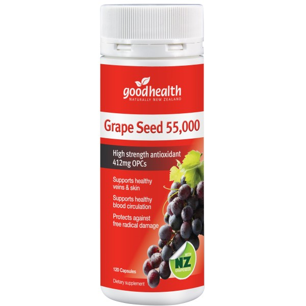 Good Health Grape Seed 55000 120 Capsules