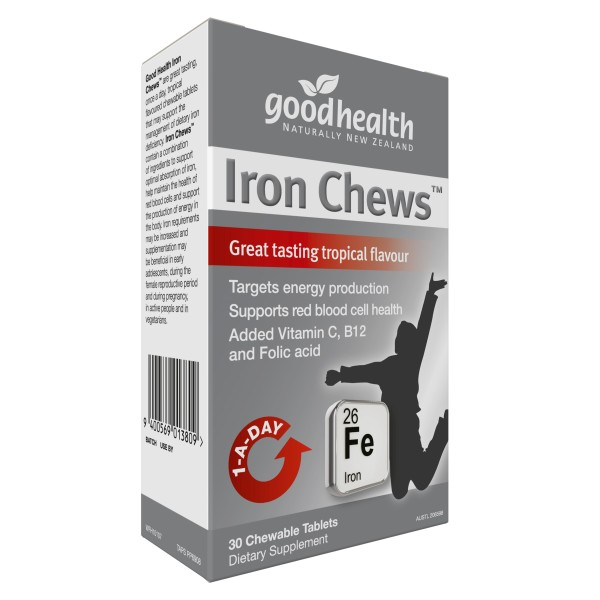 Good Health Iron Chews 30 Tablets