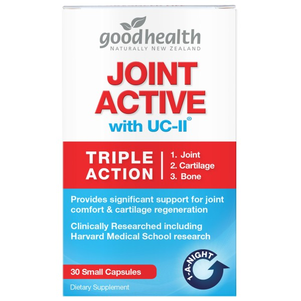 Good Health Joint Active with UC-ll 30 Small Capsules