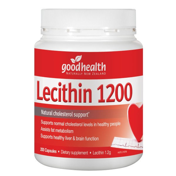 Good Health Lecithin 1200mg 200 Capsules