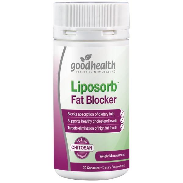 Good Health Liposorb Fat Blocker 70 Capsules