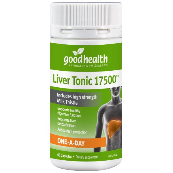 Good Health Liver Tonic 17500mg 60 Capsules