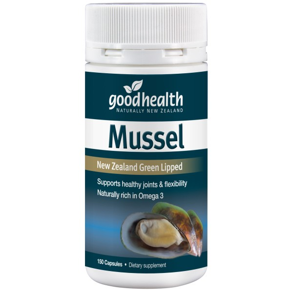 Good Health Mussel 1500mg 150 Capsules