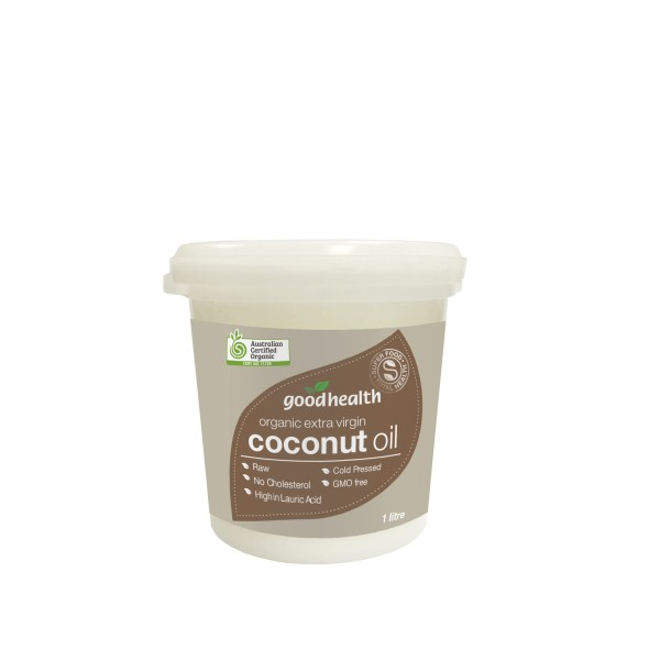 Good Health Organic Extra Virgin Coconut Oil 1 Litre