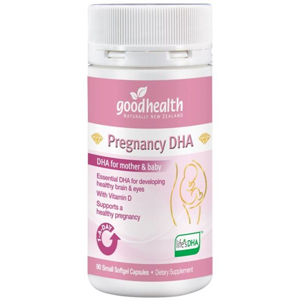 Good Health Pregnancy DHA 90 Capsules