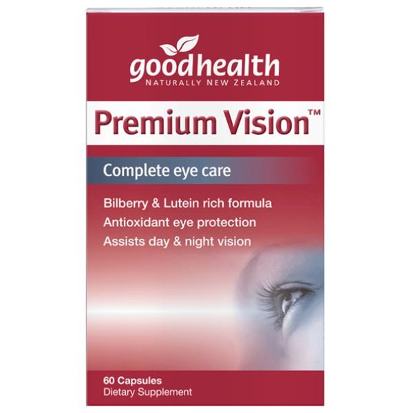 Good Health Premium Vision 60 Capsules