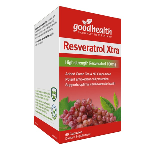 Good Health Resveratrol Xtra 60 Capsules