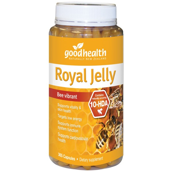 Good Health Royal Jelly 1000mg 365 Capsules