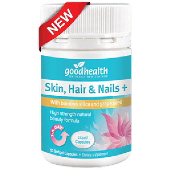 Good Health Skin Hair & Nails Plus 60 Liquid Capsules
