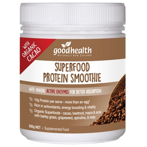 Good Health Superfood Protein Smoothie Cacao Powder 200g