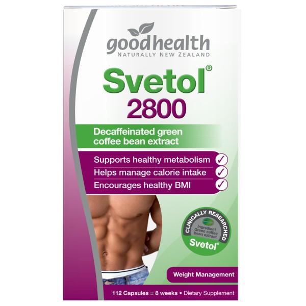 Good Health Svetol 2800 112 Capsules