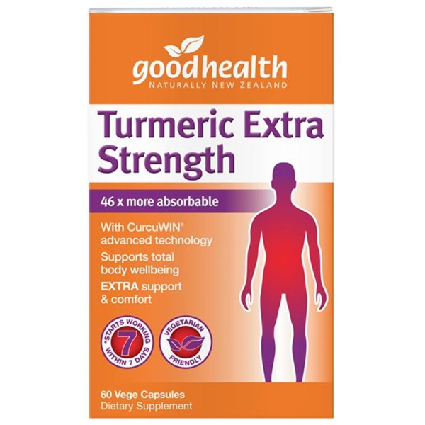 Good Health Turmeric Extra Strength 60 Capsules